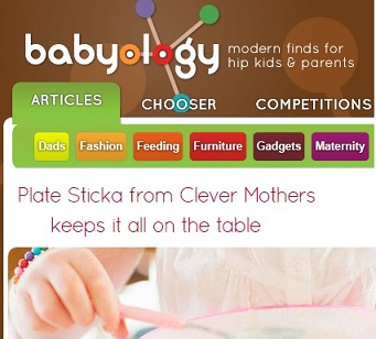 Babyology plate sticka suction plate