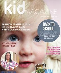 kids magazine plate sticka